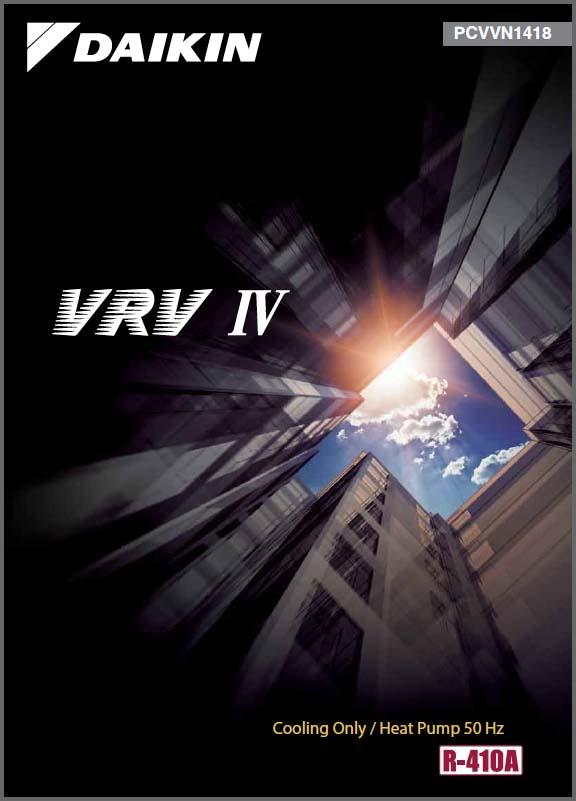 Catalog điều hòa Daikin VRV