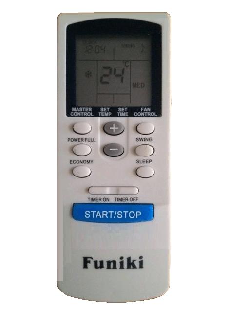 Hướng dẫn sử dụng điều hoà Funiki