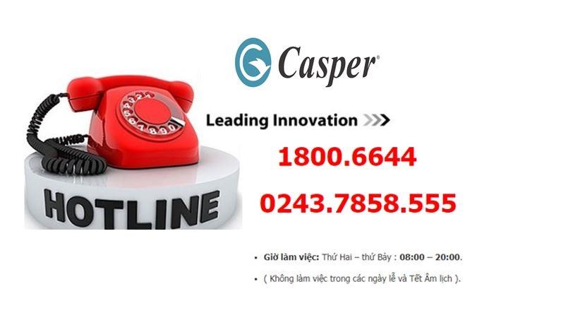 Trung tâm Bảo hành Casper tủ lạnh, máy giặt, tivi, điều hòa