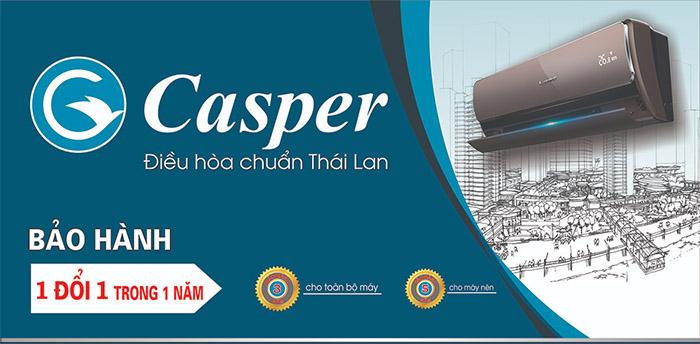 Catalog điều hòa Casper tổng hợp