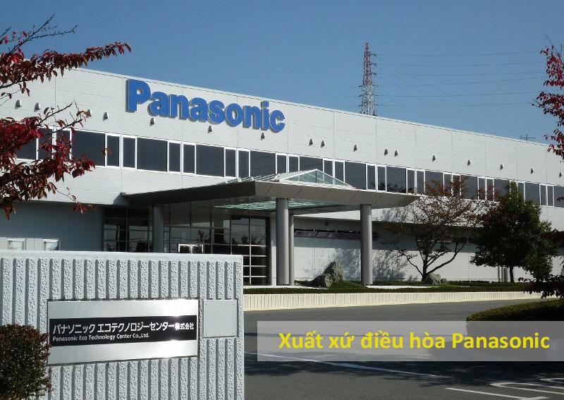 Điều hòa Panasonic xuất xứ Malaysia hay Thái lan là chính hãng