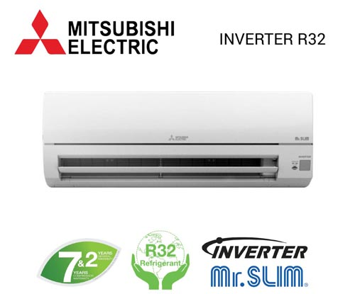 Mitsubishi Electric 10.000 BTU 1 chiều Inverter MSY-MUY-JP10VF