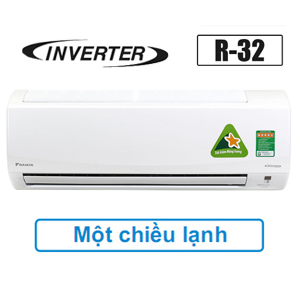 Điều hòa Daikin 18000BTU FTKQ50SVMV inverter R32,Daikin 18000btu inverter,FTKQ50SVMV-RKQ50SVMV