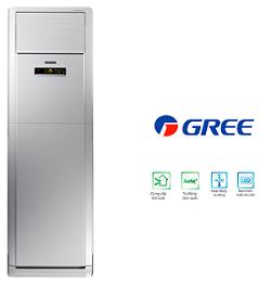 Điều hòa tủ đứng Gree 2 chiều 18.000 BTU ga R22 GVH18AG-K1NNA5A