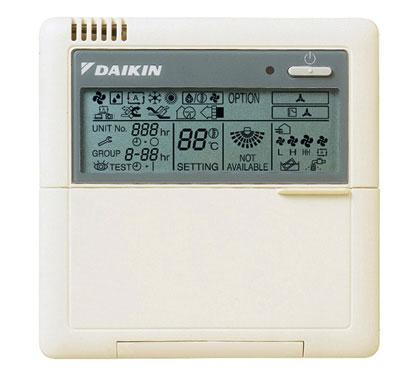 Daikin BRC073A4 Điểu khiển
