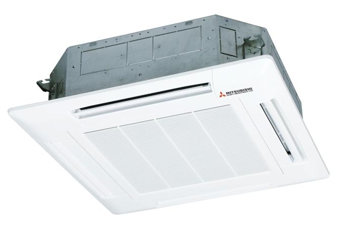 Dàn lạnh cassette điều hòa Multi Mitsubishi 9000BTU 2 chiều inverter FDTC25VF