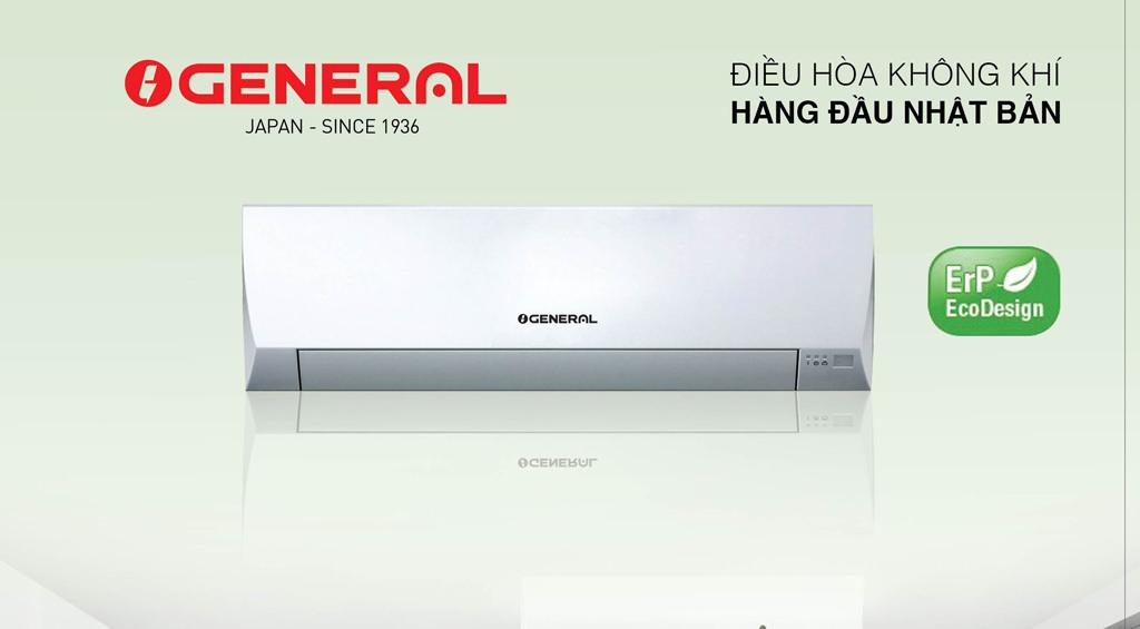 Điều hòa General 9000 1 chiều thường Ga R32  model : ASGA 09BMT/AOGA 09BMT
