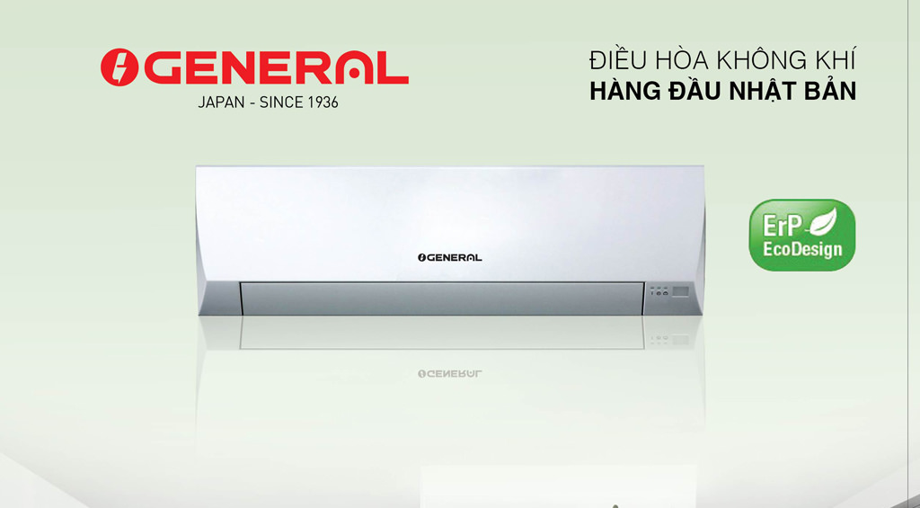 Điều hòa General 12000 1 chiều thường Ga R32 model : ASGA12BMT/AOGA 12BMT