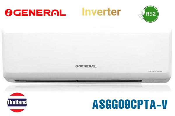 Điều hòa General 9000BTU 1 chiều inverter ASGG09CPTA-V ga R32