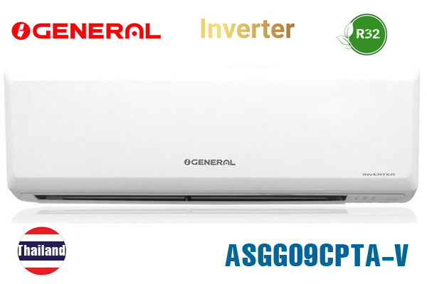 Điều hòa General 24000BTU 1 chiều inverter ASGG24CPTA-V ga R32
