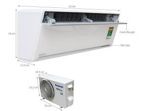 Điều hòa Panasonic inverter 1 chiều 9000 BTU VU9UKH-8 Ga R32 - 5*