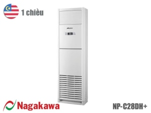 Điều hòa tủ đứng Nagakawa 1 chiều 28.000 BTU NP-C28DH+