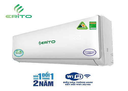 Điều hòa Erito 9000 BTU 2 chiều inverter ETI/ETO-LAV10HS1