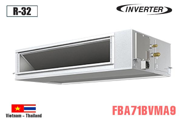 Điều hòa nối ống gió 24000BTU Daikin 2 chiều inverter FBA71BVMA9/RZA71DV1