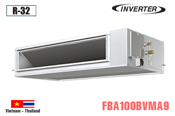 Điều hòa nối ống gió 34000BTU Daikin 2 chiều inverter FBA100BVMA9/RZA100DV1