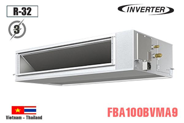 Ống gió Daikin 34000BTU 2 chiều inverter 3 Pha FBA100BVMA9/RZA100DY1