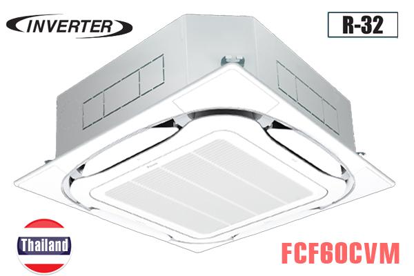 Điều hòa âm trần Daikin 21000BTU 2 chiều inverter FCF60CVM/RZA60DV2V