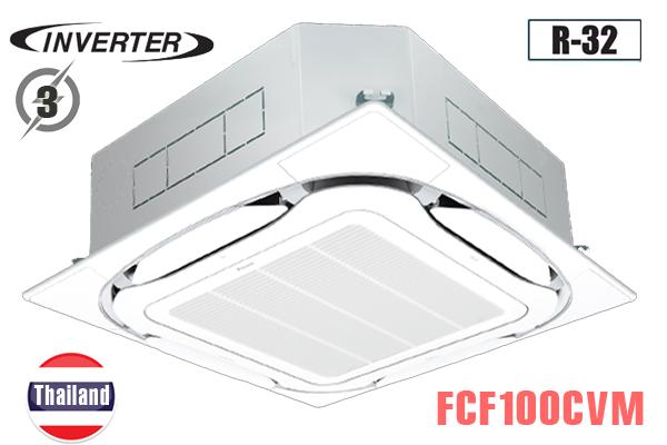 Điều hòa âm trần Daikin 34000BTU 2 chiều inverter 3 Pha FCF100CVM/RZA100DY1