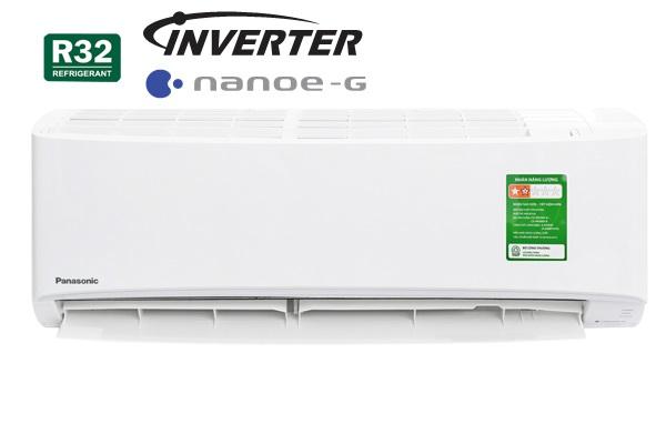 Điều hòa Panasonic 12000 BTU 1 chiều inverter tiêu chuẩn ga R32 CU/CS PU12VKH-8 - 5*