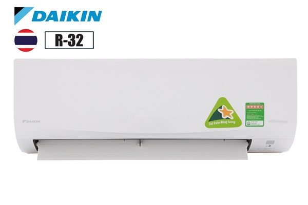 Điều hòa Daikin 1 chiều 9000BTU FTF25UV1V-RF25UV1V thường ga R32 - 3*