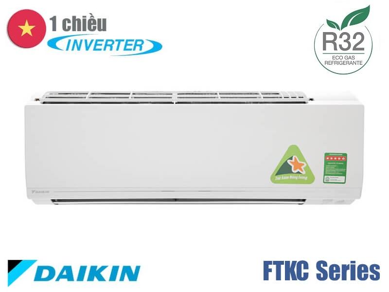 Điều hòa Daikin 22000 BTU 1 chiều inverter Ga R32 FTKC60UVMV - 5*