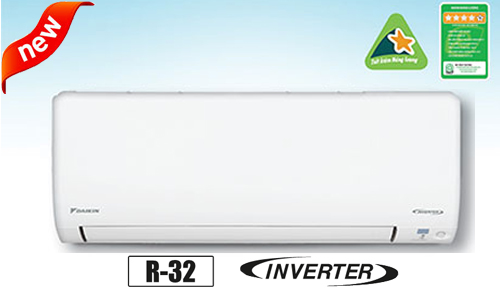 Điều hòa Daikin Inverter 21.000 BTU 2 chiều FTXV60QVMV  Ga R32 - 5*