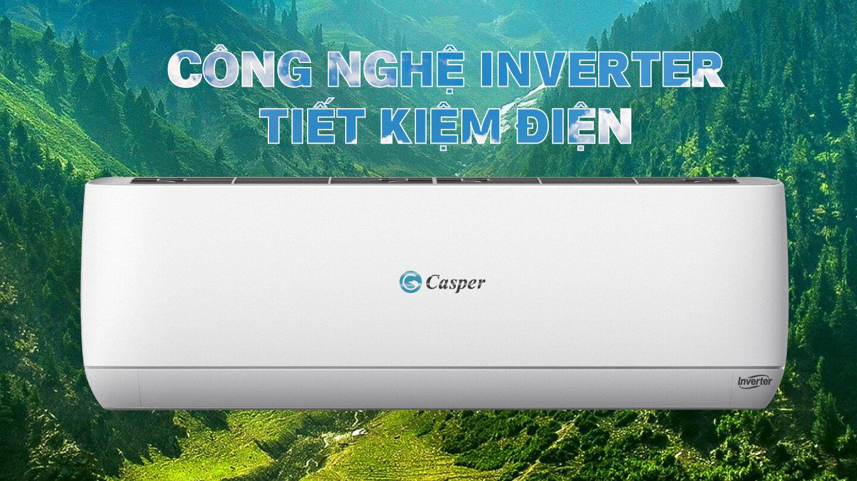 Điều hòa Casper tiết kiệm điện