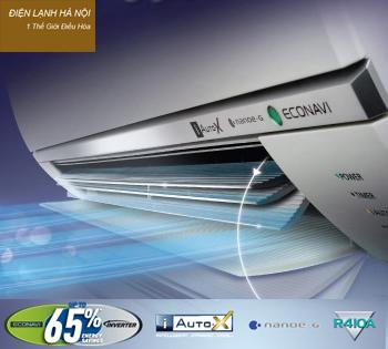 Điều hoà Panasonic loại 2 cục 2 chiều Inverter  E9RKH-8,Điều hòa Panasonic 9000 BTU 2 chiều tiết kiệm điện,CU CS E9RKH-8