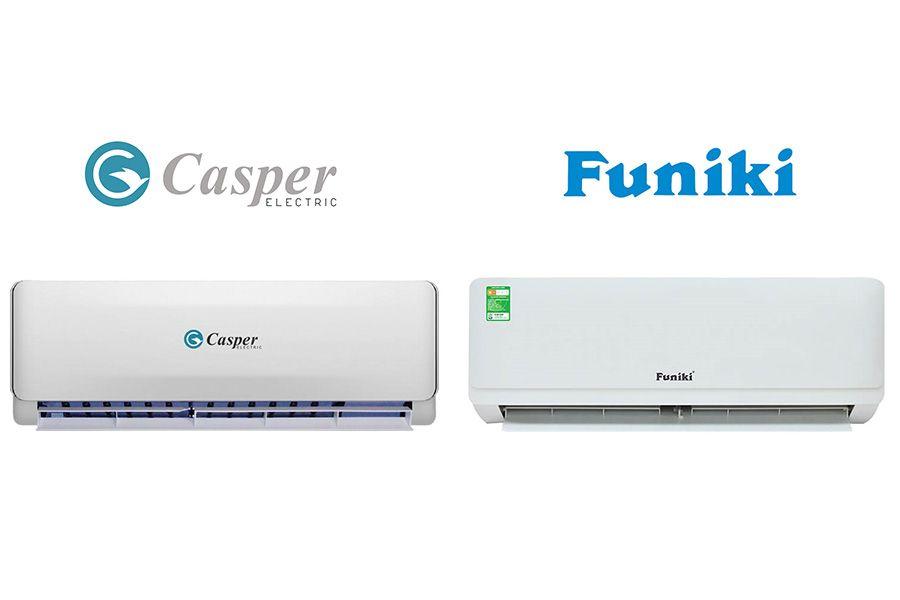Điều hòa Casper và Funiki, hãng nào dùng tốt hơn?