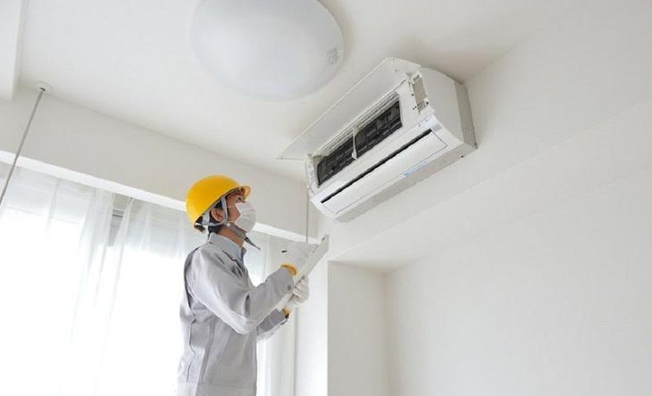 Lắp điều hòa ở góc tường nóng có thể gây quá tải